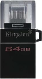 USB флеш-накопитель Kingston DataTraveler microDuo 3.0 G2 OTG, micro USB, 64 GB