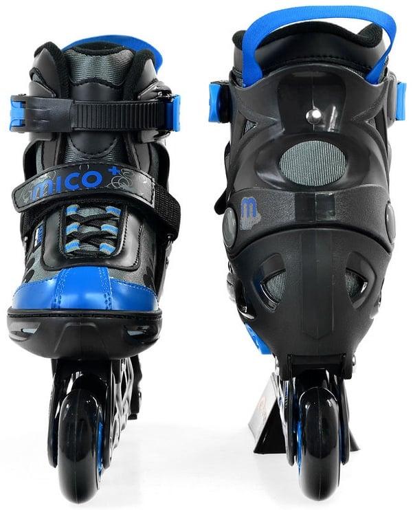 Rulluisud Mico Plus Twist Boy Black/Blue, 33-36