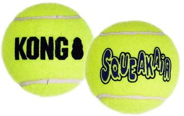 Kong Air Squeaker Tennis Ball Large 2pcs