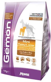 Monge Gemon Mini Puppy and Junior with Chicken and Rice 1kg