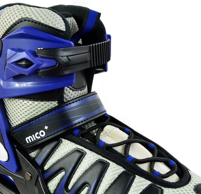 Rulluisud Mico Plus Speed Black/Blue, 44