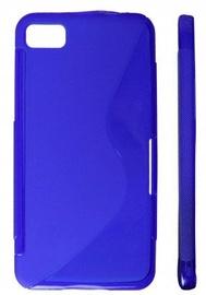 KLT Back Case S-Line Nokia 302 Asha Silicone/Plastic Blue