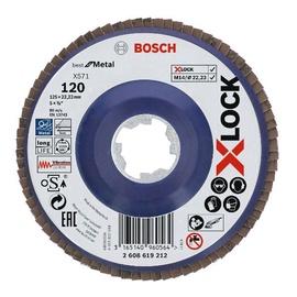 KETAS LAMELL 125MM 120 BOSCH X-LOCK