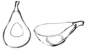 Galicja Glass Serving Bowl 2pcs