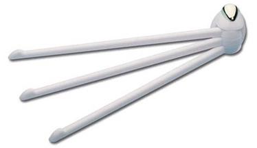 Käterätihoidja Karo-Plast Atol 15300, valge