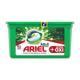 Pesu kap. Ariel All in 1 Ultra Oxi, 32tk.