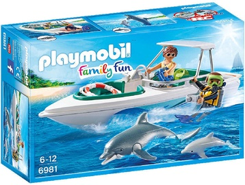Playmobil Family Fun Diving Trip With Speedboat 6981