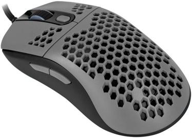 Игровая мышь Arozzi Favo Ultra Light, черный/серый, проводная, оптическая