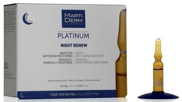 Martiderm Platinum Night Renew Ampoules 10x2ml