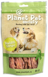 Planet Pet Society Rabbit Strip 80g
