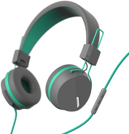 Hama Next On-Ear Headset Gray/Turqoise