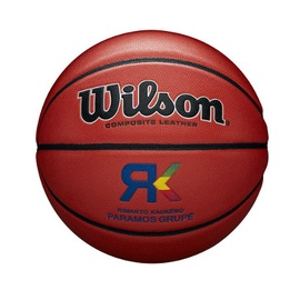 Wilson Rimantas Kaukėnas Basketball Size 7 Brown