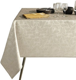 AmeliaHome Oxford Tablecloth AH Ginkgo Cream 110x160cm