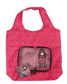 Santoro Gorjuss Folding Shopper Bag Ladybird