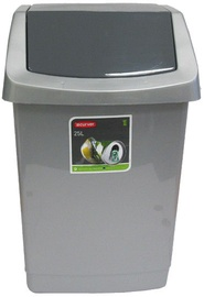 Curver Garbage Can Click It 25l Grey