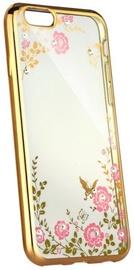 Blun Diamond Back Case For Nokia 8 Transparent/Gold