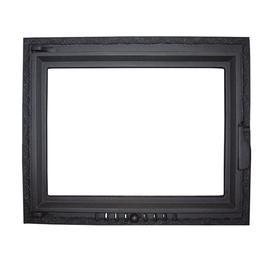 Metnetus K-10 515x625mm Fireplace Door Black