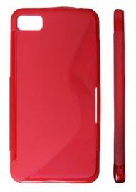 KLT Back Case S-Line Samsung Wave Y Silicone/Plastic Red