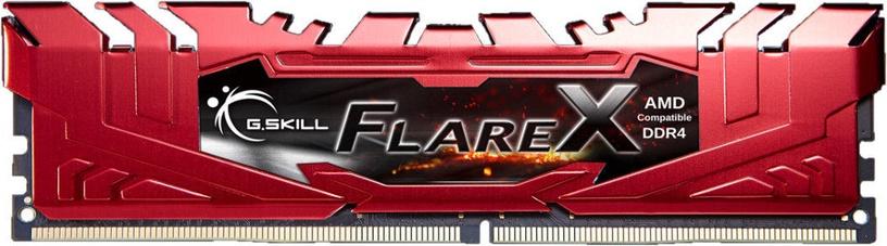 G.SKILL Flare X for AMD 32GB 2400MHz CL15 DDR4 KIT OF 4 F4-2400C15Q-32GFXR