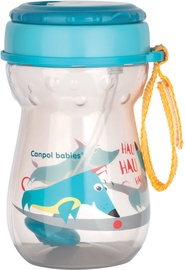 Canpol Babies Sport Cup With Flip Top Straw 350ml