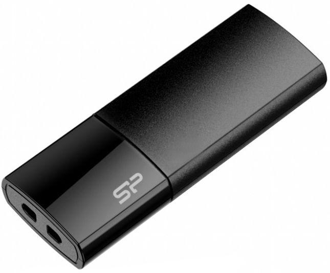 USB mälupulk Silicon Power Ultima U05 Black, USB 2.0, 4 GB
