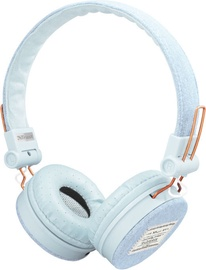 Trust Fyber Light Denim On-Ear Headset Light Blue