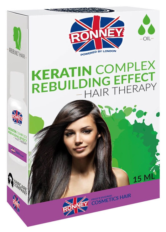 Ronney Keratin Complex Rebuilding Effect Hair Therapy 15ml