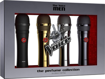 Набор для мужчин The Voice Classic Men 4pcs Set 80ml EDT