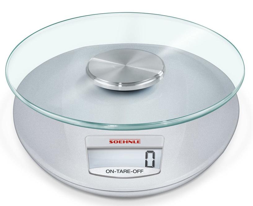 Soehnle Electronic Kitchen Scales Roma Silver