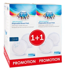 Canpol Babies Breathable Disposable Breast Pads 1+1