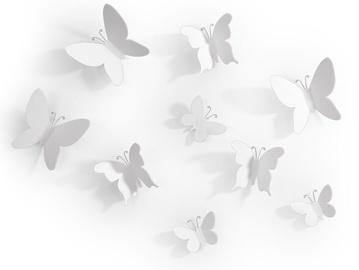 Umbra Mariposa Butterflies White 9pcs
