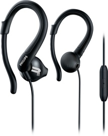 Kõrvaklapid Philips ActionFit Sports SHQ1255TBK Black