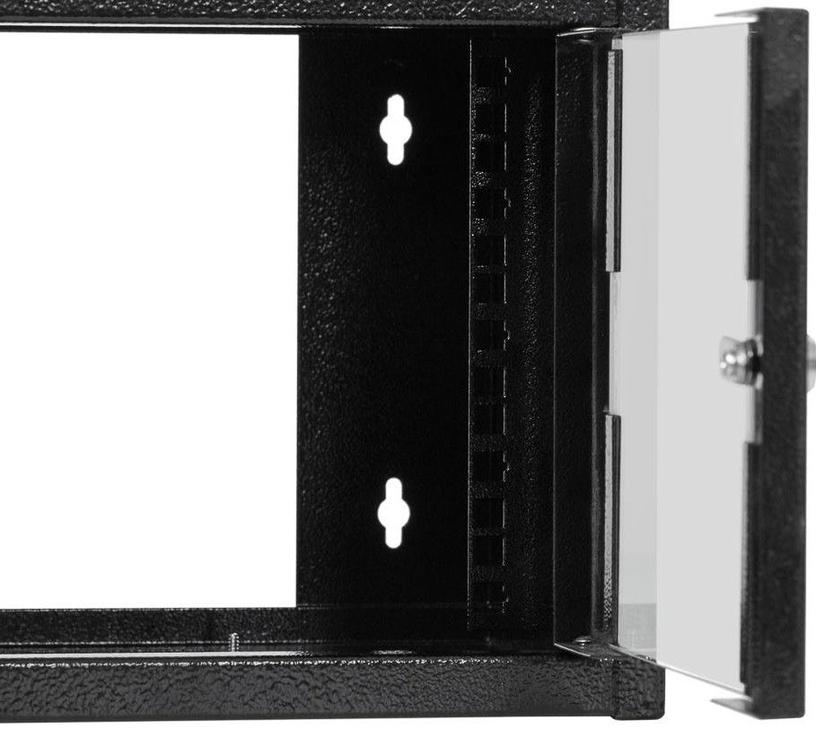 Netrack Wall Cabinet 10'' 4.5U/300mm Glass Black