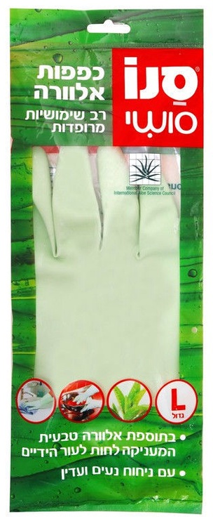 Sano Sushi Latex Gloves With Aloe Vera L 1pcs