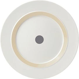 "ViceVersa Dinner Plate ""The Dot"" 28cm Grey"