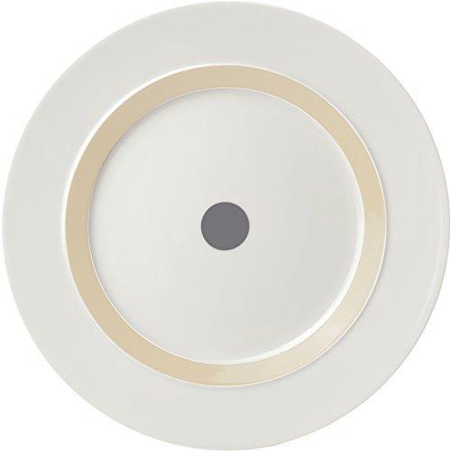 "ViceVersa Dinner Plate ""The Dot"" 28cm Grey"
