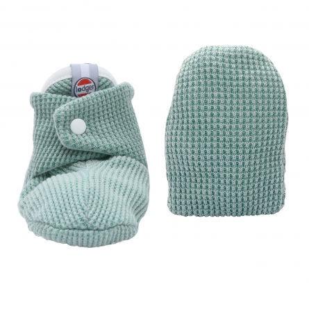 Lodger Slipper Ciumbelle Soft baby slippers 3-6m Silt Green