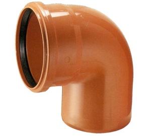 Nurk PVC 110x90° oranž