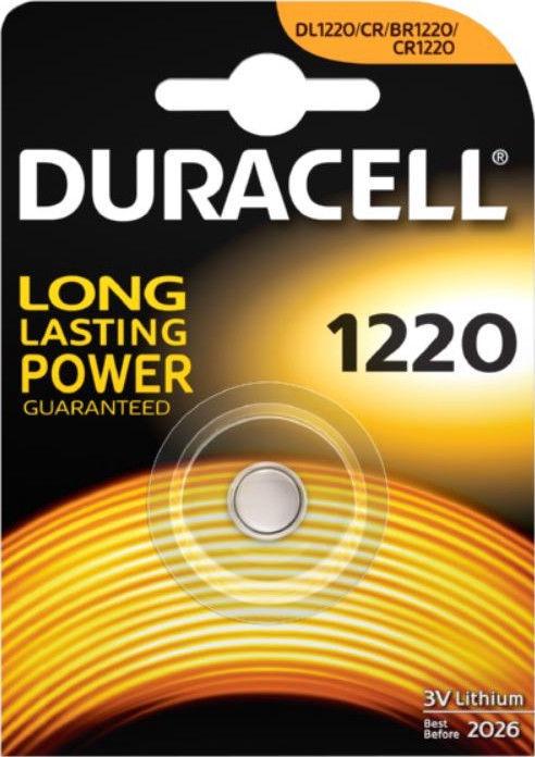 Duracell CR1220 Lithium Battery
