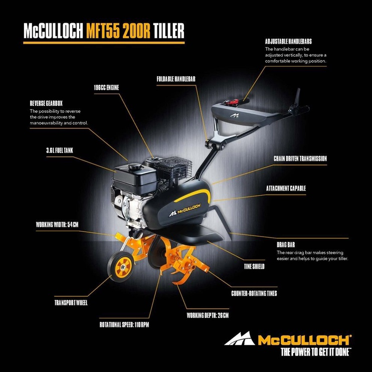 McCulloch MFT55 200R