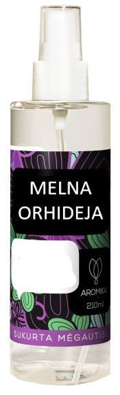 "Aromika Home Air Freshener Spray ""Black Orchid"" 210ml"