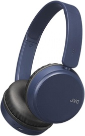 JVC HA-S35BT Bluetooth On-Ear Headset Blue