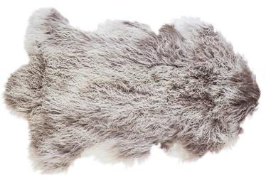 Home4you Tibet Sheepskin 60x95cm Gray/White