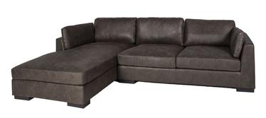 Угловой диван Home4you Malena Grey, левый, 310 x 175 x 81 см