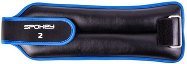 Spokey Cross Form Wrist Weight 2x2kg Black/Blue