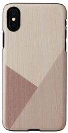 Man&Wood Tulip Back Case For Apple iPhone X/XS Black