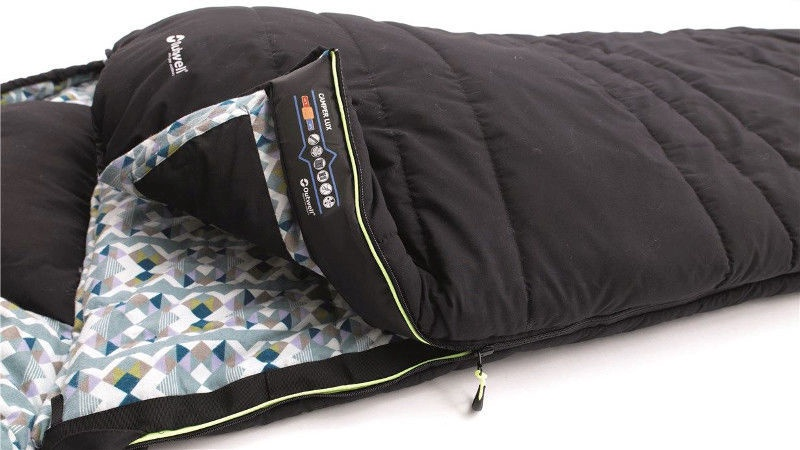 Magamiskott Outwell Camper Lux Black 230217