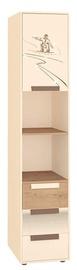 DaVita Fristail 56.04 Shelf Bunratti Oak/Cream