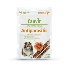 Koeramaiused Canvit Antiparasitic, lambalihaga, 200 gr