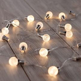 DecoKing 20 LED Light Garland Warm White 2.4m